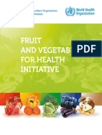 Iniciativa de frutas y verduras