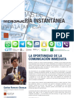 Informe Sistema de Mensajera Instantnea Para La Empresa