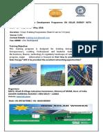 Solar Delhi 27 to 29May2016