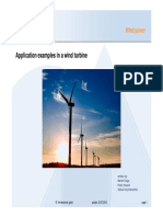 Wind Power Applications Examples