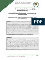 Mercado e Perfil Do Ecoturista de Diamantina (MG) Um Estudo Introdutório