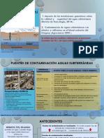 Presentación contaminación aguas subterráneas
