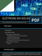 Elétrons Em Sólidos