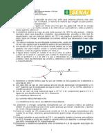 LISTA DE EXERCICIOS - FUNDAMENTOS DE ELETRICIDADE EM TELECOMUNICAÇÕES.doc