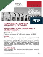 pv (2018), CEDIS-working-paper_Direito-e-Justiça_O-fundamento-da-jurisdição-administrativa.pdf