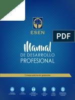 manual de desarrollo profesional de la esen
