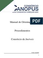 Consórcio Canopus - MANUAL - IMÓVEIS - vs_ano_2019
