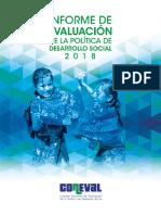 Informe de Evaluación de la Política de Desarrollo Social 2018