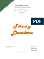 Tornos y Limadora
