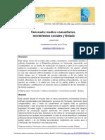 Venezuela. Medios Comunitarios, Organizaciones Sociales y Estado - Julia Porto