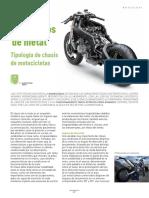 Esqueletos de Metal Motocicletas