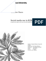 Social media use in B2B context