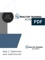 3 Step Guide to 76 Listings RTA