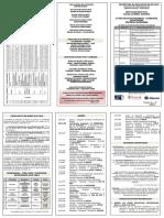 1 Plegable Foro Educativo Provincial - De Valderrama