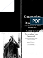 Conversations With Ogotemm Li an Introduction to Dogon Religious Ideas