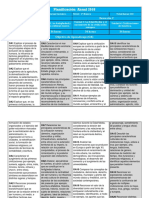 7° Basico - Planificacion anual