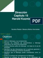 Direccion Liderazgo Cap.15