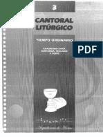 Cantoral 3 Tiempo Ordinario