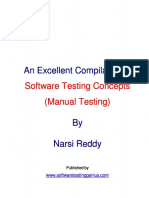 Software testing concepts