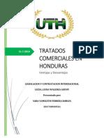 Tratados Comerciales Honduras