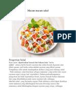 Buku Digital Gosa Tentang Salad