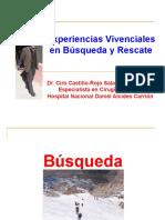 14. Experiencias Vivenciales Búsqueda y Rescate