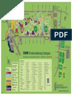 Map of Fredericksburg Campus