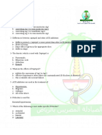 DHA 300 questions for Pharmacist