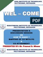 CO PO Mapping Presentation