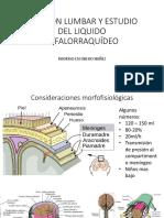 Punción Lumbar y Estudio Del Liquido Cefalorraquídeo RODRIGO ESCOBEDO NÚÑEZ