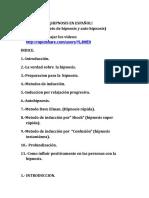hipnosis en español