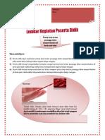 LKPD Fungsi Penyangga Dalam Tubuh