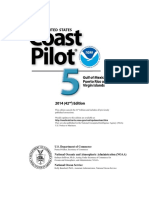 Coast Pilot 5 - 42nd Edition (2014) - Gulf of Mexico, Puerto Rico and Virgin Islands