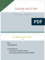 komplikasi DM