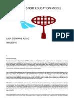 badminton sepep plan