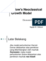 Solow Neoclassical Model