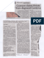 Daily Tribune, Aug. 7, 2019, Guanzon claims threats from disgraced Cardema.pdf