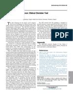 Clinical diognosis colorectal