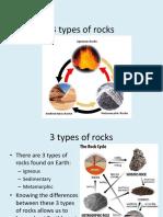 3 Types of Rocks Ppt