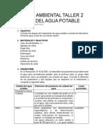 Gestión Ambiental Taller 2 Preinforme (2)