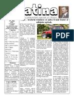 Datina - 07.08.2019 - prima pagină