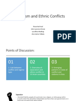 Separatism and Ethnic Conflict