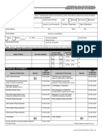 Personal Financial Statement Template 5.23.2017