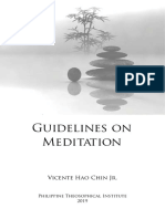 Guidelines on Meditation by Vicente Hao Chin Jr