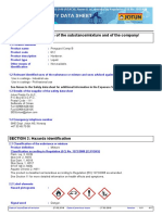 MSDS Penguard Primer B