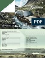 Tata Safari Storme Manual