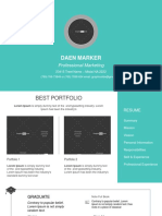 Weekly Free Download - Resume . CV . Portfolio.ppt