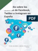 Informe RRSS 2018 the Social Media Family