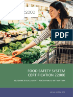 19.0528 Guidance Food Fraud Mitigation Version 5