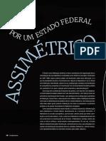 LIZIERO, Leonam Baesso da Silva. Por um Estado federal assimétrico (2017)